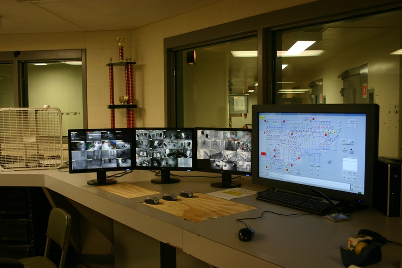 Security Designed Detention Systems Control Room Design